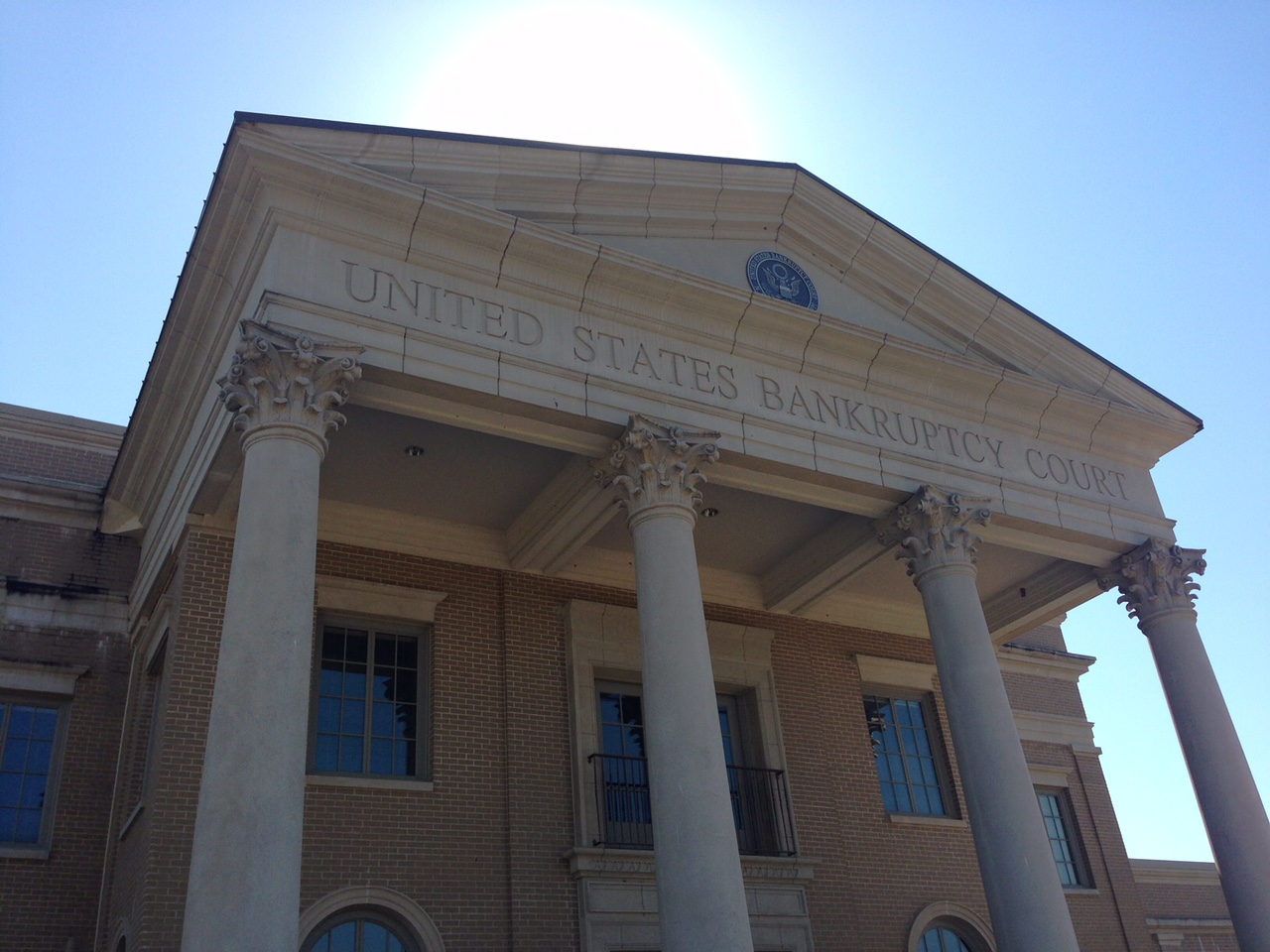 US Bankruptcy Court house Aberdeen Mississippi